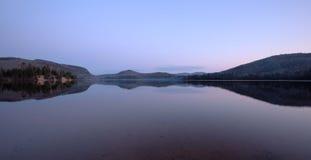 Réflexion de paysage Image stock