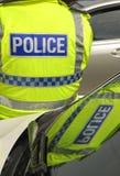 Réflexion de police Photographie stock libre de droits