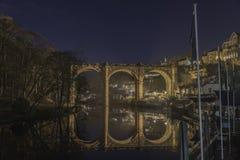 Réflexion de pont Photographie stock libre de droits