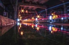 Réflexion de route de Bangkok Photo libre de droits