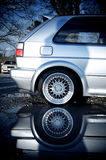 Réflexion de véhicule Photographie stock libre de droits