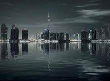 Réflexion de ville Photos libres de droits