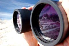 Réflexion des montagnes Photographie stock libre de droits