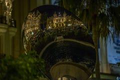 Réflexion du casino de Monte Carlo Photographie stock