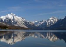 réflexion du Montana nanowatt de lac image libre de droits