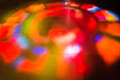 Réflexion en verre souillé images libres de droits