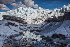 Réflexion glaciaire Photographie stock