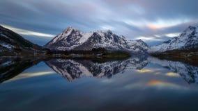 Réflexion nordique Photo libre de droits