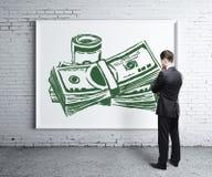 réflexion réelle d'argent de maison de patrimoine de concept illustration de vecteur