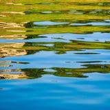 Réflexion sur l'eau photos libres de droits