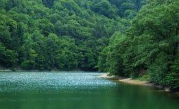 Réflexion sur le lac Images libres de droits