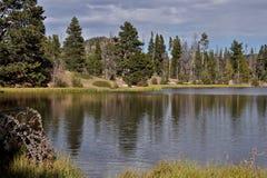 Réflexion sur Sprague Lake Images stock