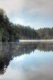 Réflexions écossaises de loch ou de lac Image libre de droits