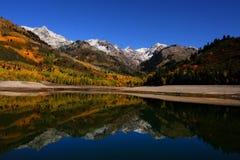 Réflexions 2 d'automne Photos libres de droits