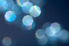 Réflexions bleues Photo stock
