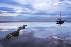 Réflexions côtières photos libres de droits