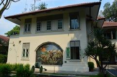 Réflexions chez Bukit Chamdu Singapour photos stock