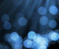 Réflexions circulaires bleues photo libre de droits