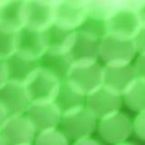 Réflexions circulaires vertes Image libre de droits