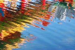 Réflexions colorées Images libres de droits