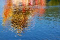 Réflexions colorées Photos libres de droits