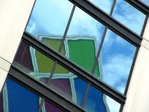 Réflexions colorées Image stock