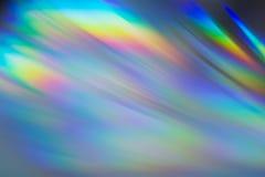Réflexions colorées de CD Photo libre de droits