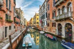 Réflexions colorées de Venise Photographie stock libre de droits