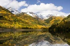 Réflexions d'automne Photo libre de droits