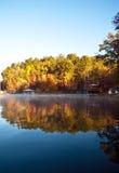 réflexions d'automne Photos stock