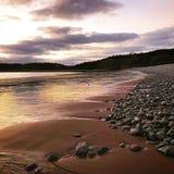 Réflexions dans le sable Photographie stock libre de droits