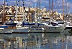 réflexions de bateaux photos stock