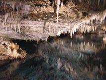 Réflexions de caverne Photos stock