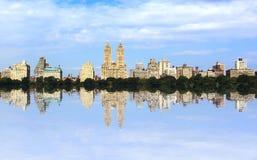 Réflexions de Central Park Photos libres de droits