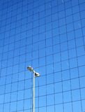 Réflexions de constructions sur le S Image stock