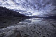 Réflexions de désert Photographie stock