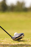 Réflexions de golfeur Images libres de droits