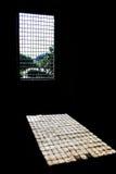 Réflexions de gril de fenêtre Image libre de droits