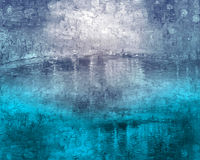 Réflexions de l'eau Images stock