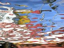 Réflexions de l'eau Photos stock
