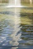 Réflexions de l'eau Image stock