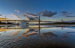 Réflexions 1 de Lisbonne Images stock