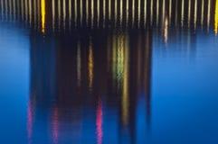 Réflexions de miroitement de lac Images libres de droits