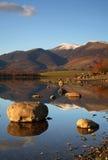 Réflexions de montagne. Photos stock