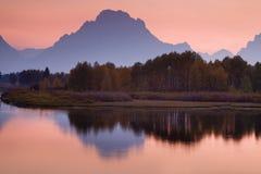 Réflexions de montagne Image stock