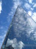 Réflexions de nuage Image libre de droits