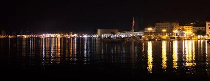 Réflexions de nuit Photo libre de droits