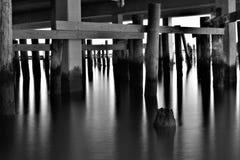 Réflexions de pilier Image stock