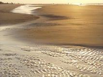 Réflexions de plage Image libre de droits