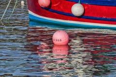 Réflexions de port Photo stock